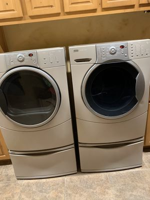 Kenmore elite washer and gas dryer for Sale in Waddell, AZ