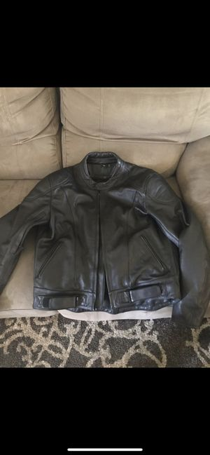 Men's HJC Cirotech Leather Motorcycle Jacket for Sale in Gresham, OR