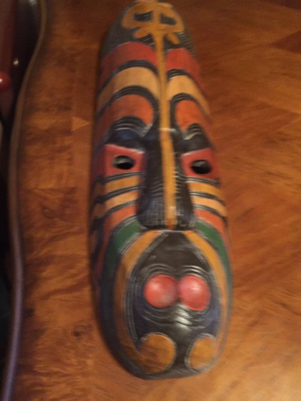 Tiki Mask From Indonesia