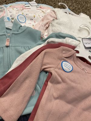 BRAND NEW GIRLS CARTERS OUTFITS AND ONESIES for Sale in Placentia, CA