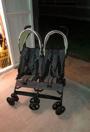 Folding Double Stroller for Sale in Plantation, FL