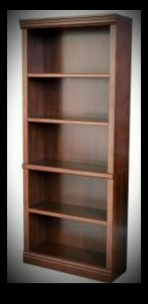 New Hampton Bay Dark Brown Wood Open Bookcase (Retail Price $127+ tax) for Sale in Phoenix, AZ