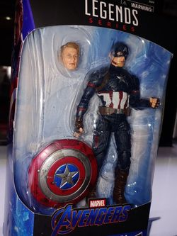 Marvel Legends Worthy Captain America for Sale in Los Angeles,  CA