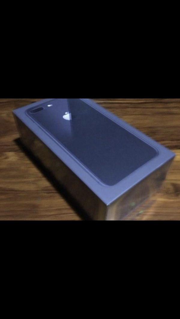 Iphone 8plus unlocked black 64gb