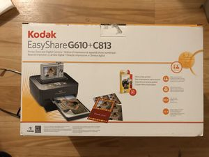 Kodak Easy Share Digital Camera and Printer Bundle - New, Never Used Vintage - Will just need new batteries because the 2 AA included are corroded. for Sale in Raleigh, NC
