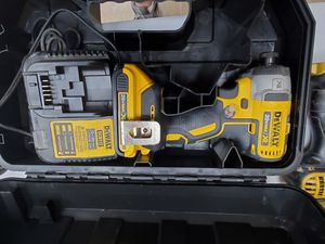 Dewalt XR 20v impact with battery and charger 100$!!! for Sale in Fort Worth, TX