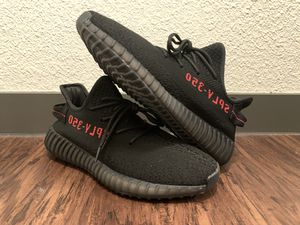 REPS- Yeezy Boost 350 V2 BRED Black/Red (Size 9.5 Men/Size 11 Women) -REPS for Sale in Argyle, TX