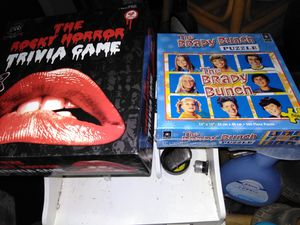 Rocky picture horror show game brady bunch puzzle for Sale in Elizabeth, PA
