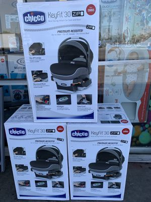 New chicco keyfit zip 30 infant car seat for Sale in Fullerton, CA