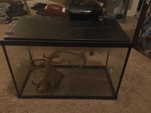 5 gal aquarium for Sale in Houston, TX