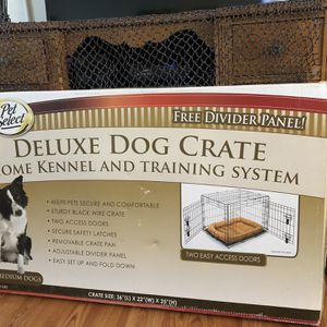 Brand New Medium Size Dog Crate for Sale in St. Petersburg, FL