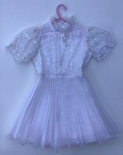 Girl baptism wedding dress Size 4/6 for Sale in Altamonte Springs,  FL