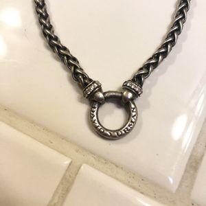 David Yurman Wheat Chain Charm Holder W/Diamonds for Sale in Tigard, OR