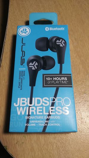 JBuds Pro Wireless signature earbuds! Brand new! for Sale in Grapevine, TX