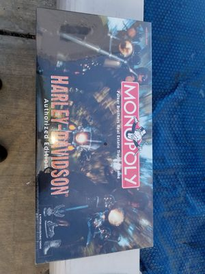Harley Davidson Monopoly board game. Mint in box, never opened! for Sale in Queens, NY