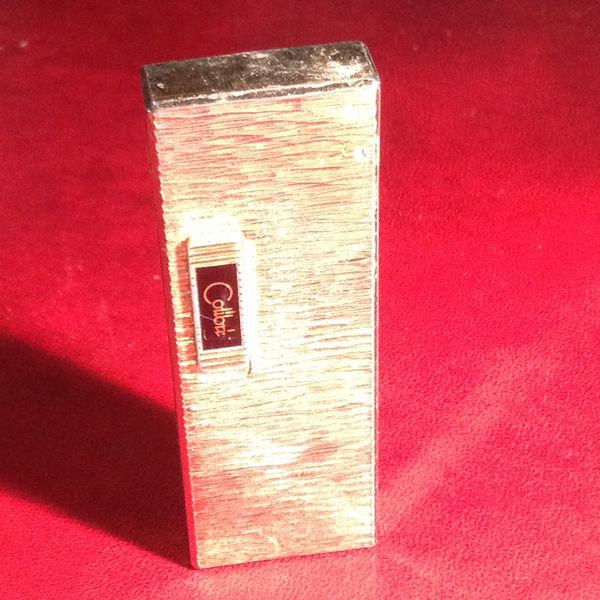 COLIBRE PIPE LIGHTER GOLD PLATED NON TESTED