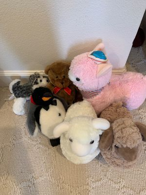 Lot of stuffed animals for Sale in Irvine, CA