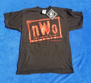 New world order NWO shirt 1998 YOUTH LARGE for Sale, used for sale  Apple Valley, CA