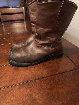 Red Wings Boots steel toe great condition for Sale in San Antonio, TX
