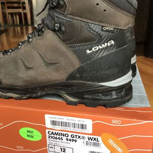 Lowa Camino GTX WXL Hiking Boots - Size 13 for Sale in Portland, OR