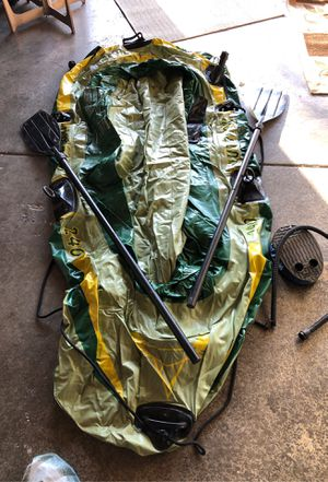 Inflatable fishing raft for Sale in Manteca, CA