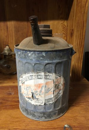Antique Schluter gas can for Sale in Dinuba, CA