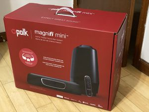Polk Audio MagniFi Mini 2.1 Soundbar for Sale in North Plainfield, NJ