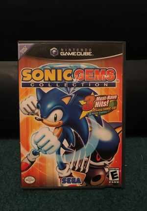 Sonic Gems for Nintendo GameCube for Sale in Salisbury, MD
