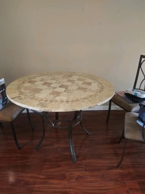 Free table and 2 chairs for Sale in Boca Raton, FL