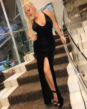 Velvet long dress for Sale in Los Angeles, CA