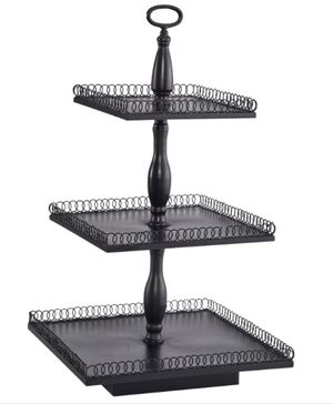 Magnolia collection 3 tier stand for Sale in Los Angeles, CA