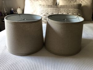 2 new beige/tan lampshade for Sale in Lexington, KY