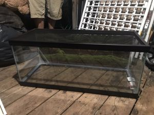 20 gallon tank with top screen and filter for Sale in Manassas, VA
