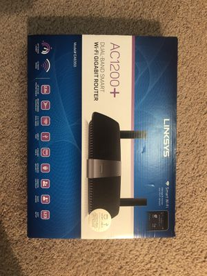 linksys gigabit router for Sale in Arlington, VA