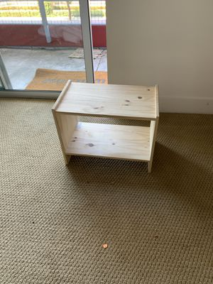 Small desk, night stand, shoe rack for Sale in Irvine, CA