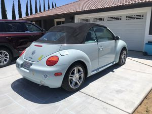 2004 VW New Beetle Convertible for Sale in Hesperia, CA