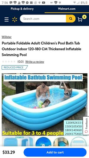 Inflatable pool for Sale in Abilene, TX