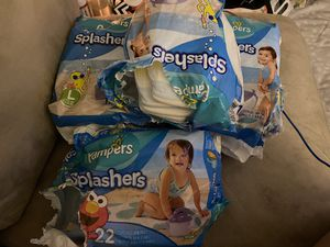 Pampers splashers for Sale in Saginaw, TX