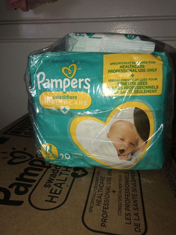 Newborn pampers bundle