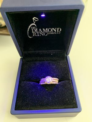Diamond Rose Gold Wedding Bands and Engagement Ring for Sale in Phoenix, AZ
