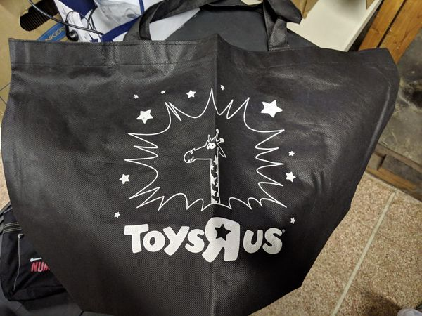 Authentic Toys R Us Tote Bag