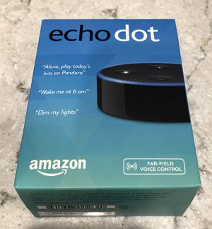 ALEXA / Amazon Echo Dot (2nd generation) black / new never used for Sale in Fort Lauderdale, FL