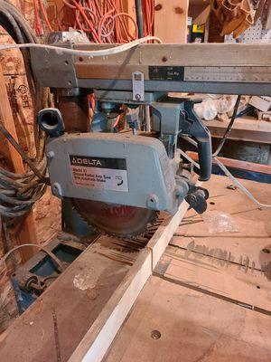 Delta Radial arm saw for Sale in Pontiac, MI