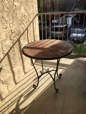 Wrought Iron Table Patio Furniture for Sale in Oceanside, CA