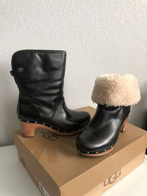 Ugh Lynnea Sheepskin lined Cuff Boots for Sale in Brentwood, CA