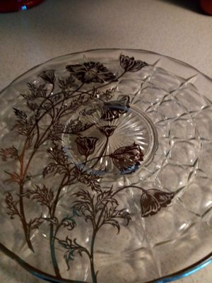 Silver and Glass Serving Plates for Sale in Anchorage, AK