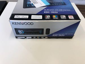 Kenwood CD-Receiver with USB Interface for Sale in Tampa, FL