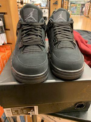 "Air Jordan Retro 4's ""Black Cats"" Size 9 for Sale in Orlando, FL"