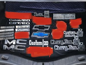 C10 truck emblems for Sale in Modesto, CA