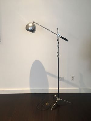 Vintage Floor lamp with leather handles for Sale in New York, NY